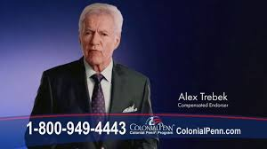 colonial penn life insurance tv commercial a perfect fit featuring alex trebek ispot tv