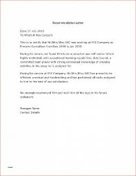 Letter Of Recommendation Fresh How To Write A Peer Recommendation