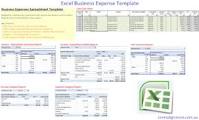 Expense Excel Template Excel Free Business Expense Template Inner Alignment Perth