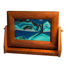colored sand pictures small alder frames 7 x 9