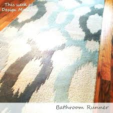 small bath mats and rugs long bath rug extra long bathroom runner rugs strikingly extra long small bath mats and rugs