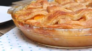 southern peach cobbler with pie crust. Southern Peach Cobbler Inside With Pie Crust Divas Can Cook