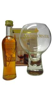cognac brandy courvoisier vsop miniature luxury gl gift set