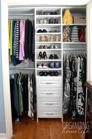 how to organize a bedroom without closet master bedroom closet organization her closet ideas for organizing