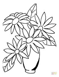 Free Printable Flower Coloring Pages For Kids Bunch Of Flowers