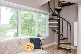 bedroom loft design. loft-bedroom-spiral-stairs bedroom loft design