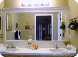 cottage bathroom mirror ideas. Brilliant Bathroom Mirror Frame Ideas Cottage Frames Lowes And Diy R