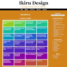 Kaleidoscope The Color Changing Wordpress Theme Ikiru Design