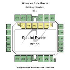 Wicomico Civic Center Seating Chart