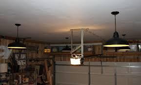 shining inspiration garage ceiling with new pendants lights best carport for fans lighting