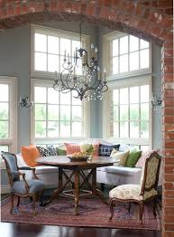 kitchen nook chandelier tuck the nook in a corner country home ideas subscription home decorating ideas tv room