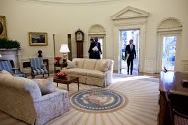 obamas oval office. Obama Enters The Oval Office Obamas I