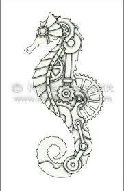 766b28665277501d4137bbeea92e043c.jpg (295455). Seahorse TattooSeahorse  DrawingSteampunk ...