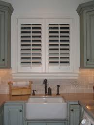 custom plantation shutters kitchen dream home kitchen sink window blinds