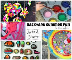 outdoor activities for preschoolers. Summer Backyard Fun For Kids: Outdoor Arts \u0026 Crafts Activities Preschoolers