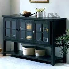 black sideboard with glass doors door sideboards buffets love and 2 of 3