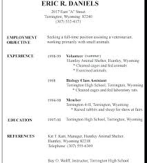 Resume For Full Time Job Best of First Time Job Resume Examples Foodcityme
