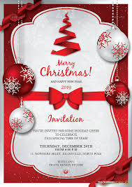 Free Christmas Invitation Templates Simple Holiday Party Invites Templates Free Usha Greetings