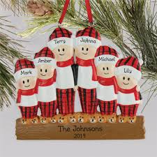 Flannel Family Personalized Christmas Ornament