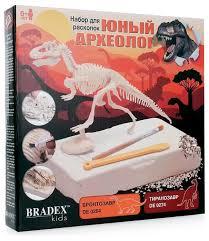 <b>Набор</b> для раскопок <b>BRADEX Юный археолог</b>. Тиранозавр ...