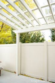 see the complete plans for the diy pergola and clear pergola