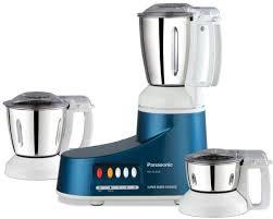 Panasonic Kitchen Appliances Panasonic Mx Ac300s Blue 550 W Mixer Grinder Price In India