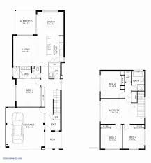 bedroom story house plans philippines best of 4 2 5 narrow lot row floor