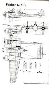 Fokker G1 B Fokker G1 Dibujos En Técnicas De Dibujo