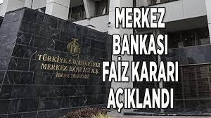 Merkez Bankası faiz kararı belli oldu! Merkez Bankası faiz kararı nedir? -  Son Haberler - Milliyet