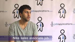 nike s associate job description salary