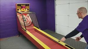 classic skee ball arcade game play