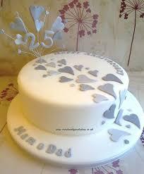 25th Anniversary Cake In 2019 Cakes 25 Anniversary Cake 25th