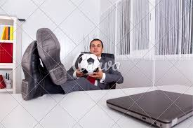 Soccer Manager At The Office Photos By Canva