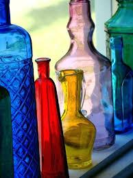 Decorative Glass Bottles Wholesale decorative colorful glass bottles HomeMade Craft 50