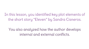 "lesson analyze internal and external conflicts in ""eleven  view resource copy resource id"
