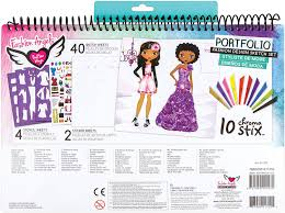 Fashion Angels Fashion Design Sketch Portfolio Printables Fashion Angels Fashion Design Sketch Portfolio Artist Set