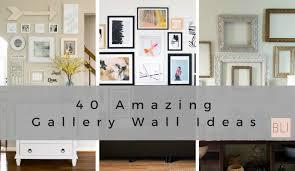 40 gallery wall ideas birkley lane