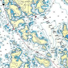 Dogtooth Lake Depth Chart Barney Narrows And Three Sisters Map Lake Of The Woods Ontario