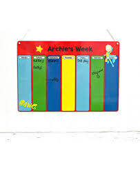 Cheap Kids Weekly Planner Childrens Routine Chart