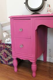 Bright Pink Paint Custom Pink Chalk Paint Vanity Girl In The Garager