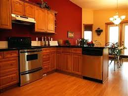 red cherry cabinets kitchen orange kitchens with cherry cabinets and stainless steel appliances dark red cherry