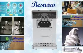 touch screen air pump counter top puffing ice cream making machine super low noisy high output smart control system