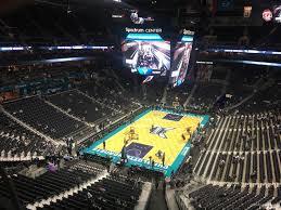 Spectrum Center Section 215 Charlotte Hornets