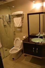country hotel bathroom toilet