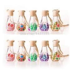 How To Decorate Perfume Bottles 100ml Glass Perfume Bottle Polymer Clay Vials For Essential Oil Car 55