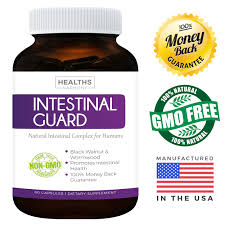 healths harmony intestinal guard parasite cleanse non gmo worm intestinal cleanse for humans wormwood black walnut 60 capsules walmart
