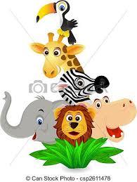 wild animals clipart. Wonderful Animals Wild Animal Intended Animals Clipart