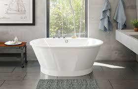 Maax 103901 Brioso 6042 Freestanding Fiberglass Bathtub