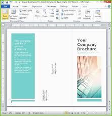 Free Microsoft Word 2010 Brochure Templates Tadlifecare Com