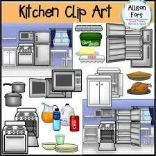 kitchen appliances clipart. Simple Appliances Kitchen Clip Art Set  Unique Opened And Closed Appliances Target Safety  Function Kitchen Vocab Categories Openclosed Etc Inside Appliances Clipart C